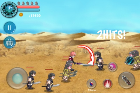 ARPG Monster & Warrior Deluxe screenshot 2