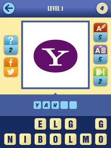 Screenshots of Guess The Brand Game - #1 Logotype pop quiz and trivia to test who knows what's that food, car or fashion company logo! for iPad