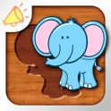 Animal Learning Puzzle for Toddlers and Kids icon