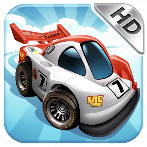 Mini Motor Racing HD iOS App