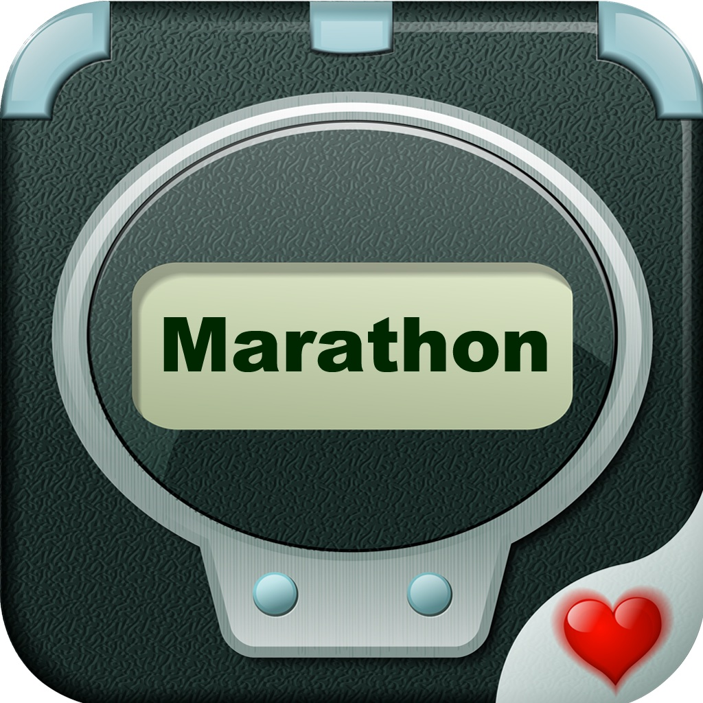 Marathon Trainer Pro - Run for American Heart iOS App