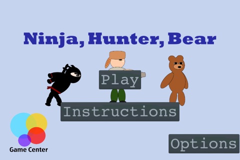 Ninja, Hunter, Bear screenshot 1