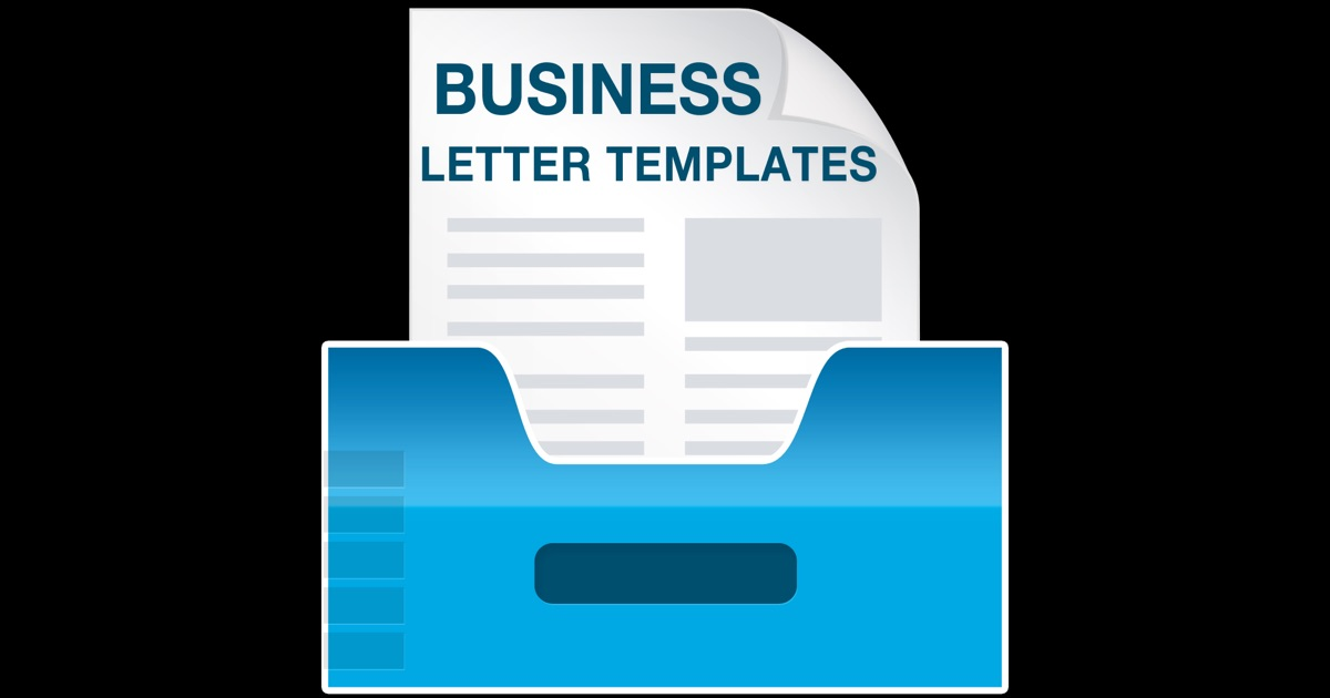 Business Letter Templates on the Mac App