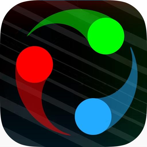Duet Circle Dot Wave Game Dodge Jumpy Gyrik Line Xijin Wen