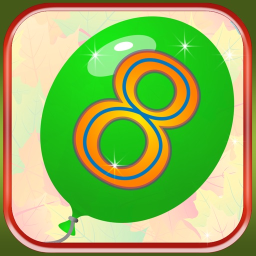 Baby Balloons Numbers iOS App