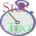 Stop Text icon