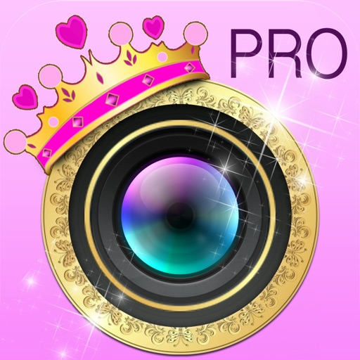 Princess-Gram™ Pro - Easy To Use FX Photo Editor To Makeover Your Photos With Sparkles, Glows and Twinkles PRO Edition iOS App