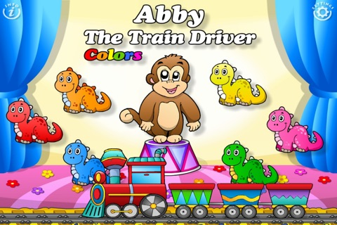 Colors Train • Learning Colors - Interactive Fun Educational Games with Toys, Animals, Cars, Trucks and more Vehicles for Children (Baby, Toddler, Preschool, Kindergarten) Free screenshot 1