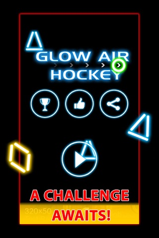 Glow Air Hockey Twist screenshot 2