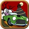 Crazy Zombies Car Spin: Monster Racing Slots