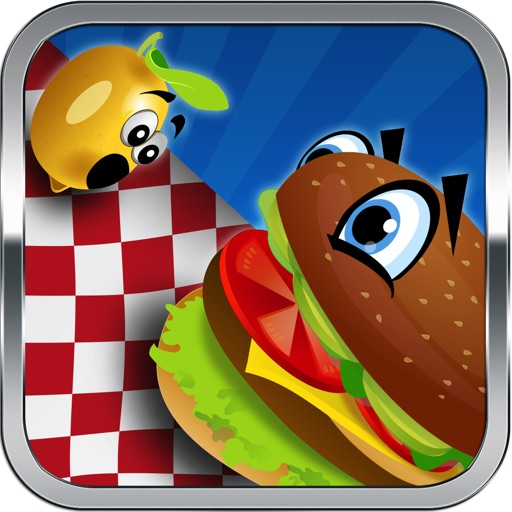 Flying Food Fight Dash Pro - Hungry Restaurant Diner Mania (Best Kids Game) iOS App