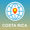 Costa Rica Map - Offline Map, POI, GPS, Directions