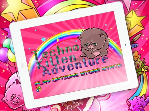 Techno Kitten Adventure на iPad