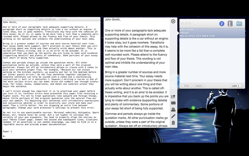 essay grader on the mac app store screenshot 1