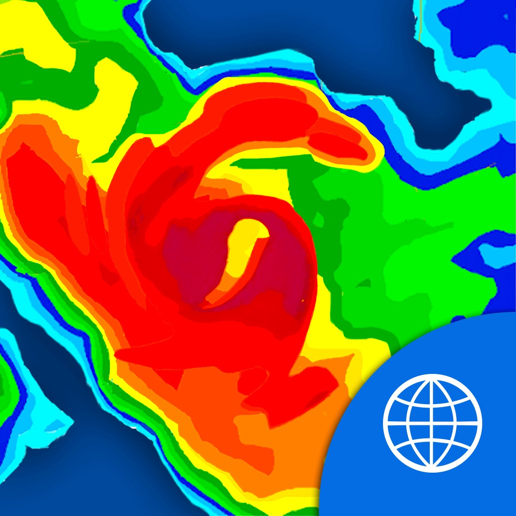 NOAA World Radar – Free Rain & Weather Forecast – Hurricane Tracker