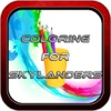 Color Book Game: Skylanders Version