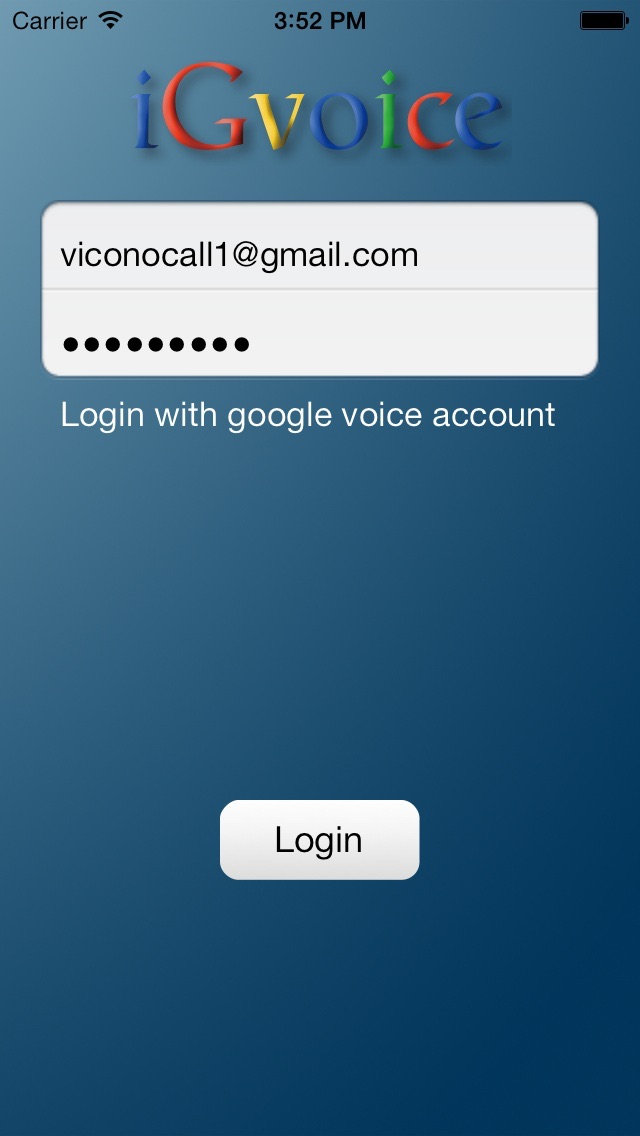 how to call from google voice app