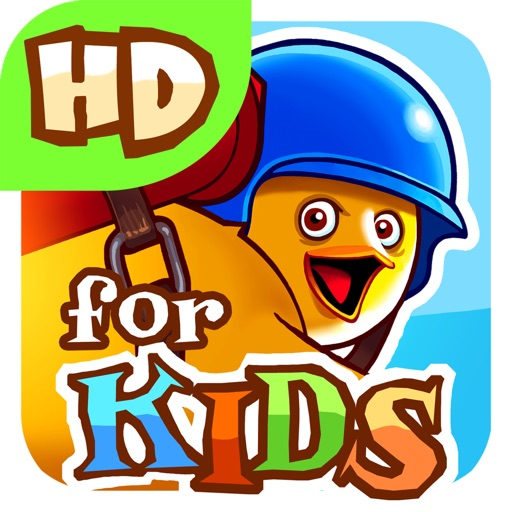 RocketBird For Kids HD iOS App