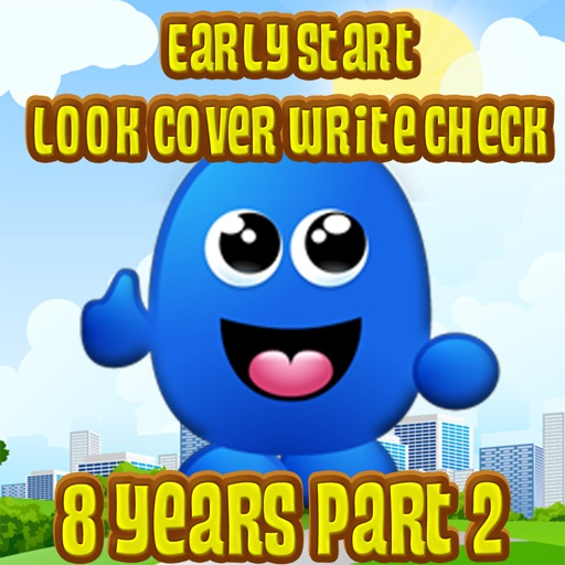 Early Start Look Cover Write Check 8 Years Part 2 Icon