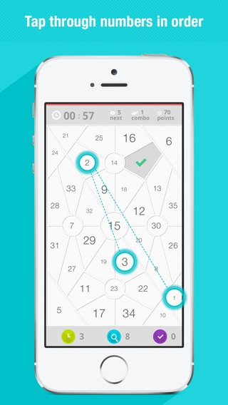 Next - Numbers Screenshot