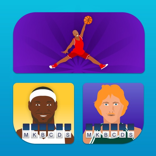 Hey! Guess the Basketball Player - Name the pro sports star in this free trivia pic quiz iOS App