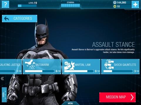 Screenshots of Batman: Arkham Origins for iPad
