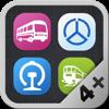 全国列车公交地铁长途汽车查询(超级4合1)