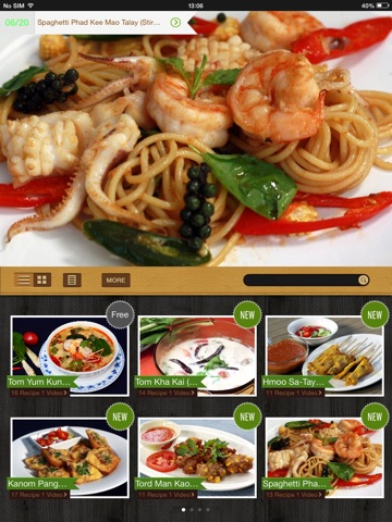 Thai Cooking Recipes screenshot 2