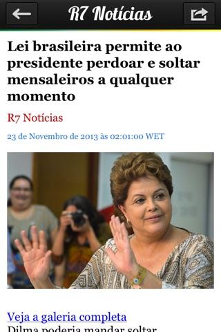 iBrasil - Notícias do Brasil screenshot 3