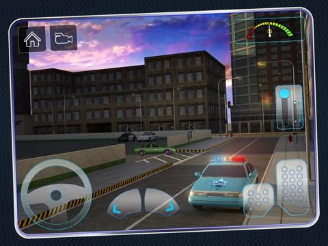 Screenshot #6 pour Police Car Parking 3D : Awesome Cop Training Simulator