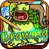 Drawing Desk Monsters  : Draw and Paint my Singing Cartoon on The Coloring Book For Kid