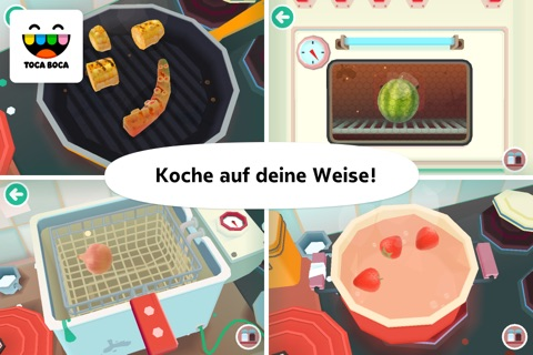 Toca Kitchen 2 screenshot 3