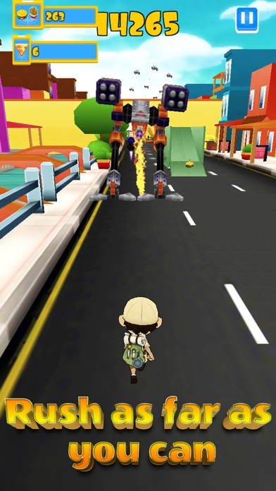 Robot Clash Run - Fun Endless Runner Arcade Game! Screenshot