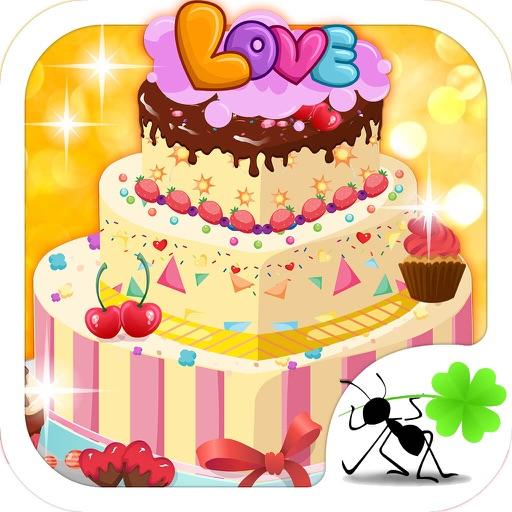 Princess Wedding Cake - Design Dessert Salon, Fashion Party,Free Girl Games iOS App