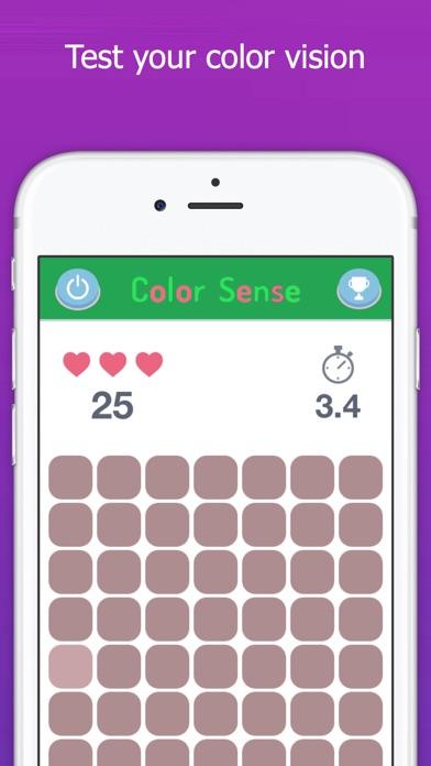 Color Sense - Eye Test, Check Your Vision, Kuku Kube Color Tiles Screenshot