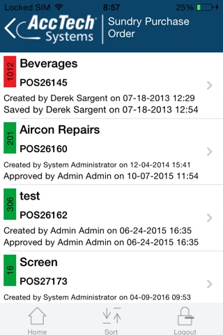 AccTech BPM screenshot 4