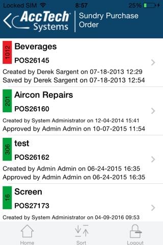 AccTech BPM screenshot 4
