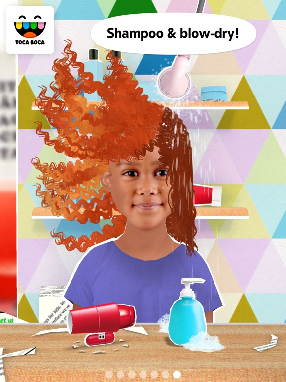 Toca Hair Salon Me Screenshots
