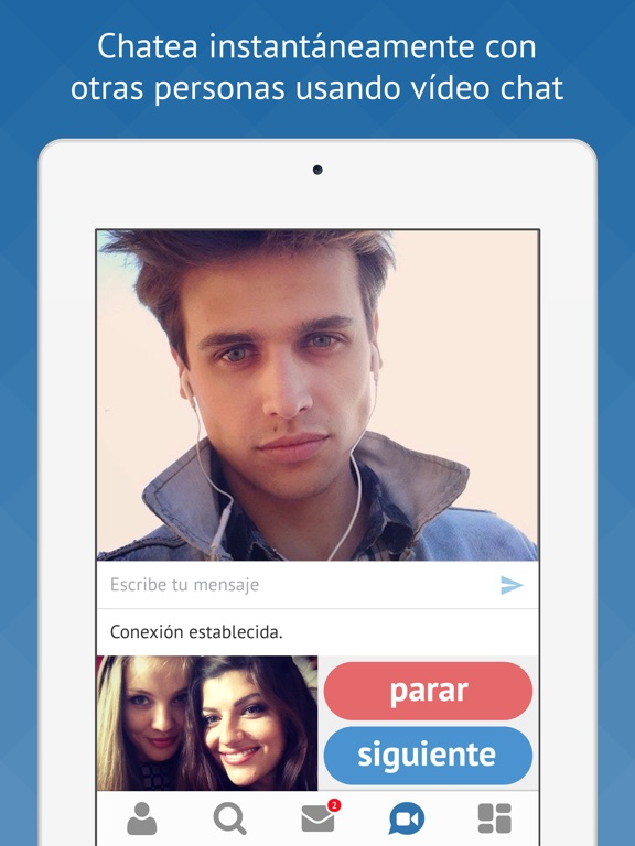 Video chat con otras personas