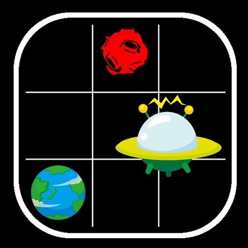 Aliens save the Planet Icon