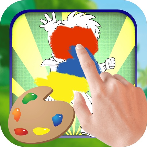 Color Book Game for Kids: For Diego Go Version iOS App