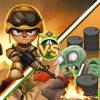 Ninja vs Zombies War in Desert commander howitzer weapons