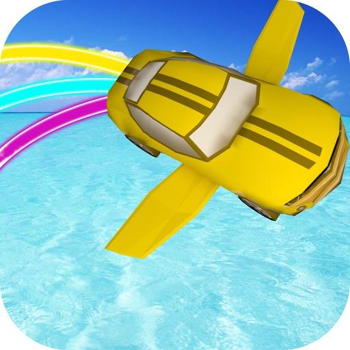 Flying Car Extreme Pilot Driving Simulator iOS App