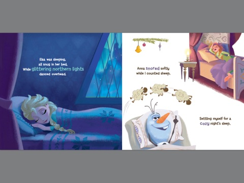 Frozen: Olaf's Night Before Christmas by Disney Book Group on iBooks
