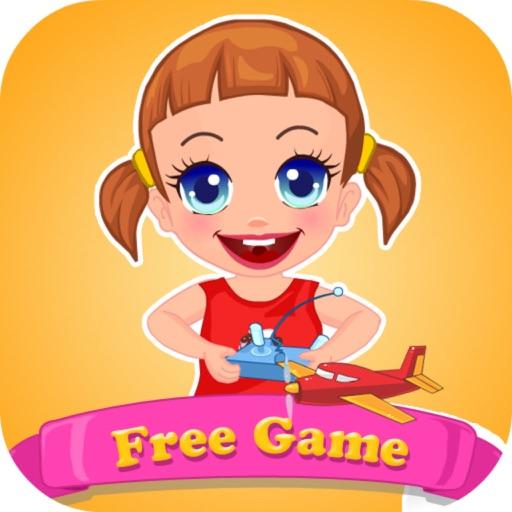 Kids Seven Toy Planes - Fantasy Tour&Match Sage iOS App