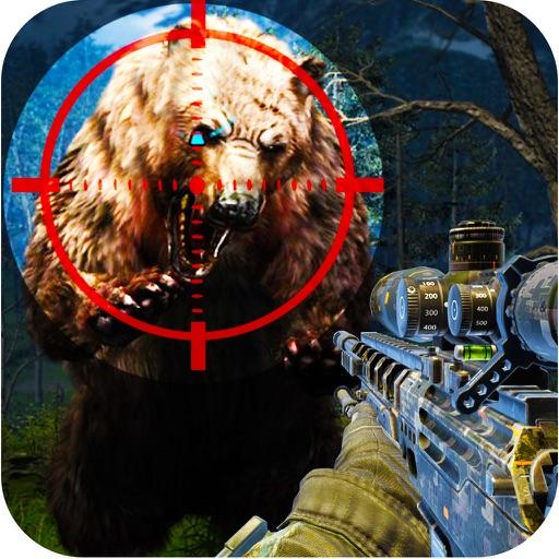 Bear Hunting Assault Pro : 2016 Dark Night Hunter Shooting Horrible Carnivores Creature iOS App