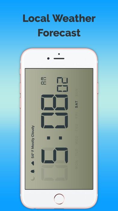 Цифровые часы-ПрогнозСкриншоты 1