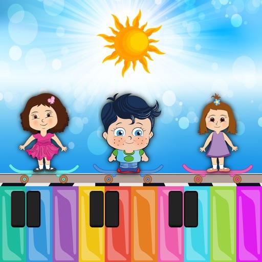 Cimcimelerle Orman Orkestrası - Çocuklar için Türkçe Piyano Çalma Oyunu Icon