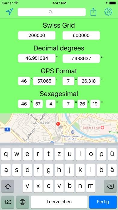 download Swiss Grid Coordinates Tool apps 2