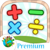 Add, subtract, multiply and divide – funny Math games for kids and children Premium